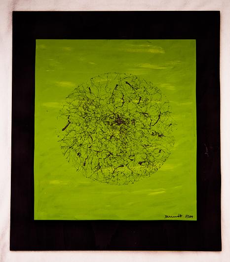 Frühling | 2014 | 50 x 60 cm | Holz