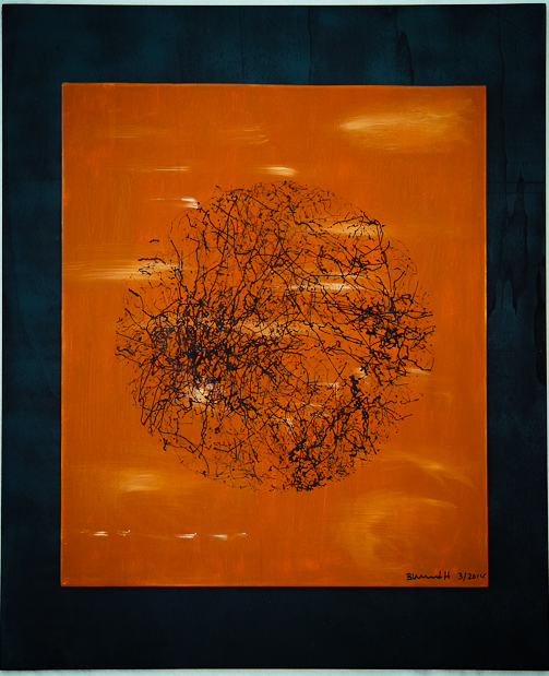 Winter | 2014 | 50 x 60 cm | Holz